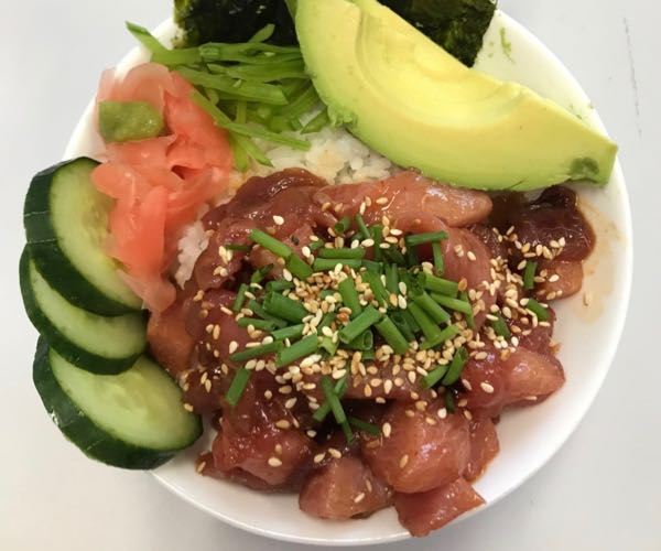 Bluefin Tuna Poke Bowl