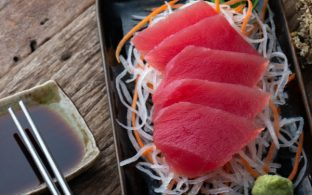 Simple Bluefin Tuna Sashimi
