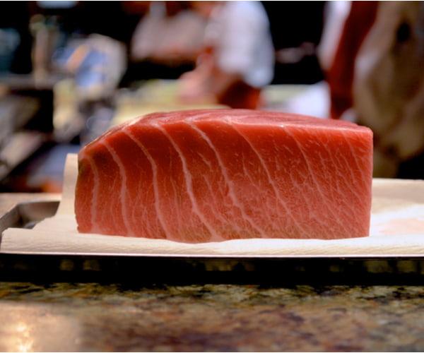 Spicy Bluefin Tuna Sashimi
