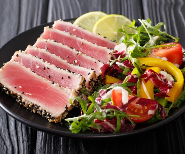 Sesame Crusted Bluefin Tuna