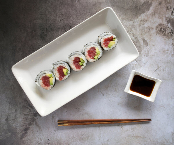 Southern Bluefin Tuna Avocado Sushi